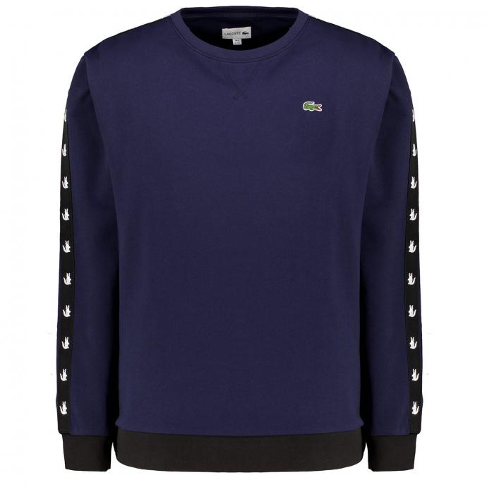 Sweatshirt mit Logo-Tape marine_JB1 | 5XL