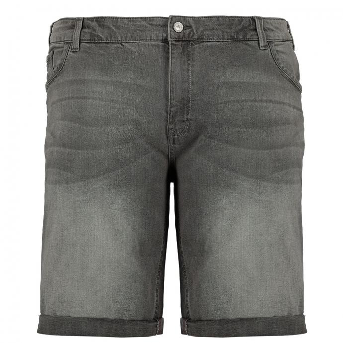 Lässige Jeans Short mit Stretch hellgrau_4235 | W48