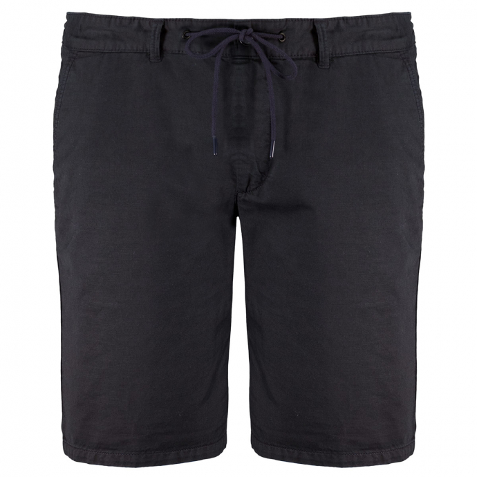 "Leichte Shorts ""Whitby"" aus Baumwoll-/Leinenmix dunkelblau_0800 | 3XL"