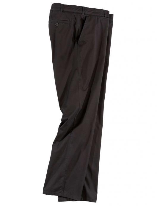 Bequeme Hose mit Super-Kurzleib-Bund und Stretch-Anteil schwarz_19   60