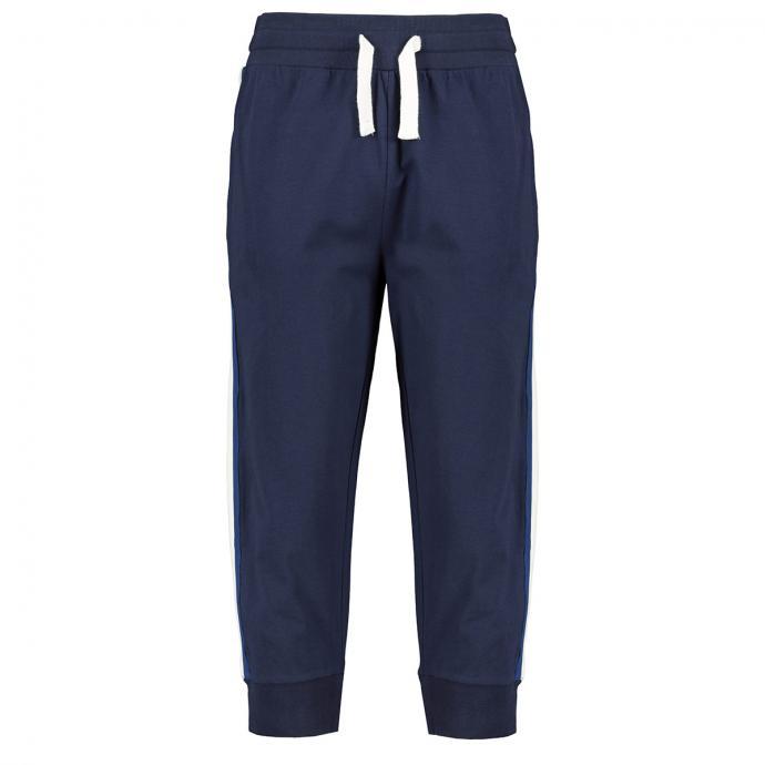 3/4 Jogginghose mit extra breitem Gummibund dunkelblau_0580 | 3XL