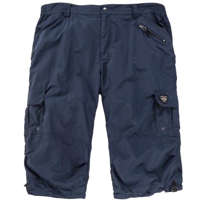 Leichte Funktionsbermuda mit praktischen Taschen dunkelblau_212   3XL