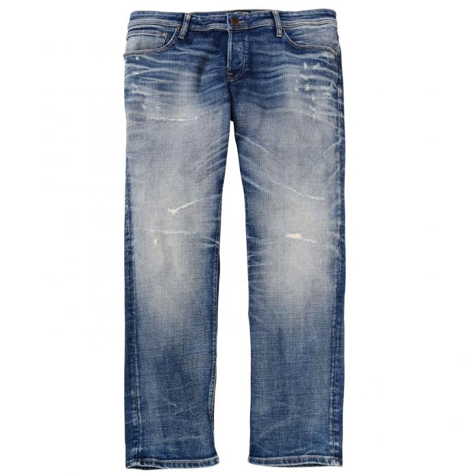 Lässige Jeans in moderner Used-Optik jeansblau_BLUEDENIM   42/32