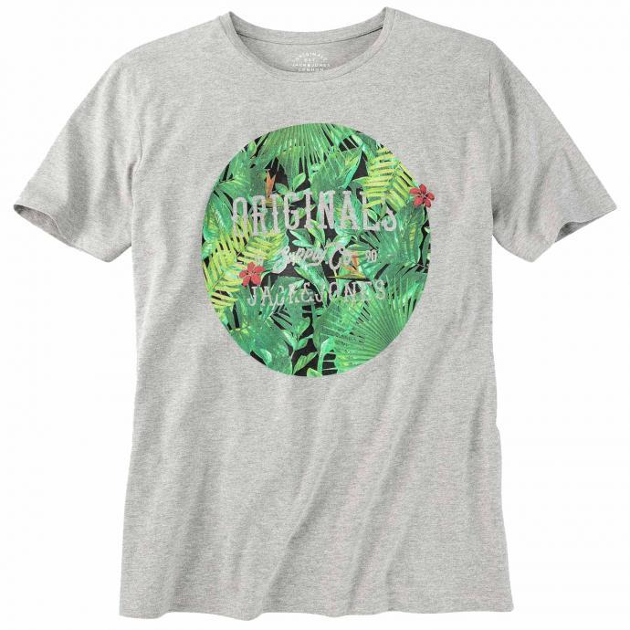 T-Shirt kurzarm hellgrau_LIGHTGREY | 3XL