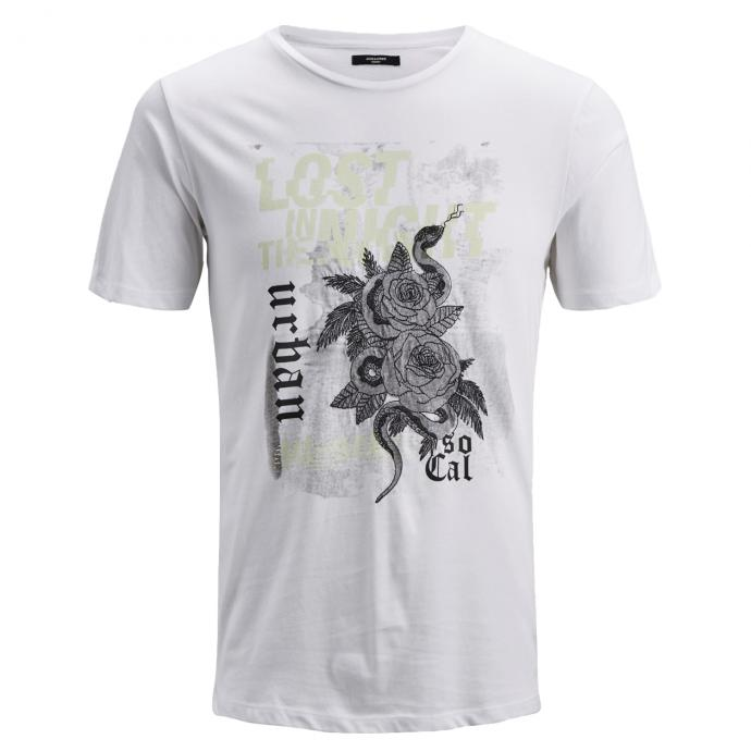 """T-Shirt """"lost in the night"""" weiß_WHITE 