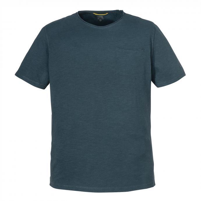Baumwoll-T-Shirt im Vintage-Style blau_12   3XL