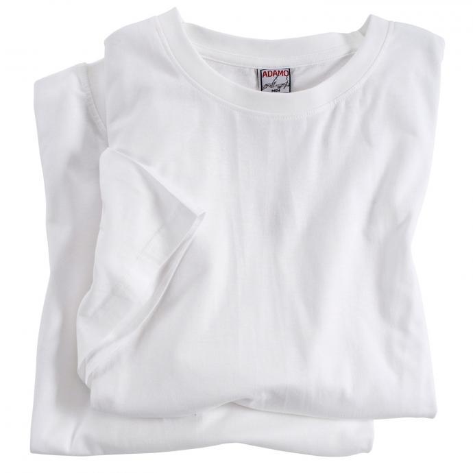 T-Shirts im Doppelpack mit Rundhalsausschnitt weiß_100 | 3XL