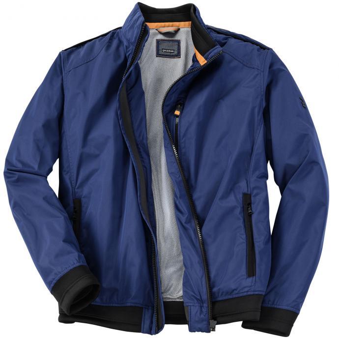 Funktionelle Jacke in Blousonform blau_43 | 62