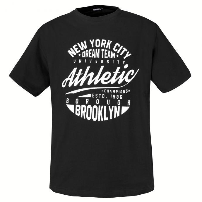 """Baumwoll T-Shirt """"Athletic"""", schwarz_700   3XL"""