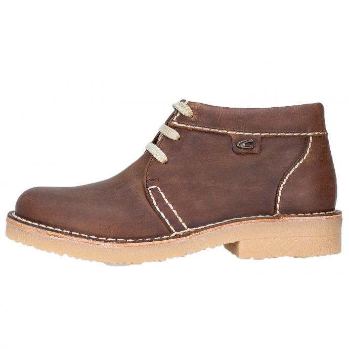 Wetterfeste Leder-Boots mit warmen Futter braun_23 | 46