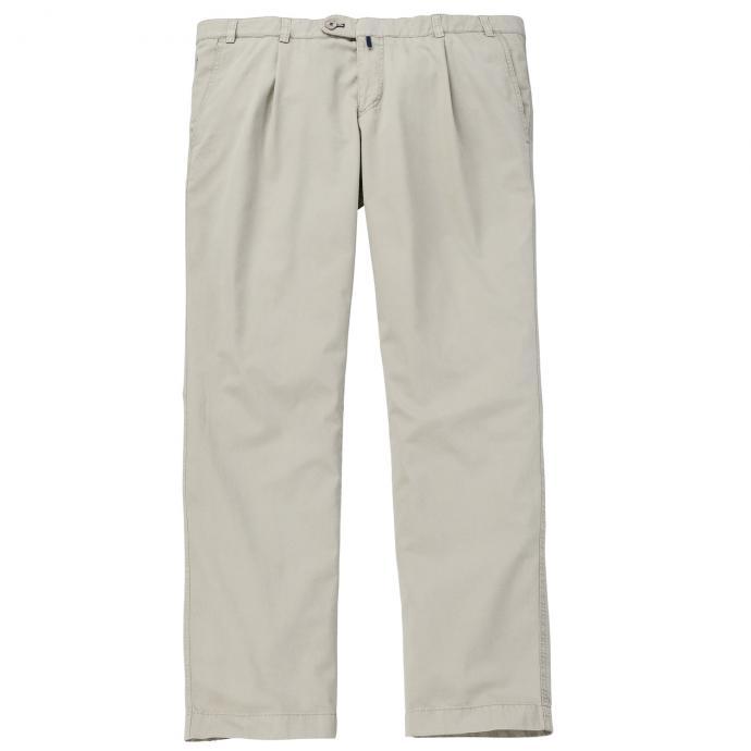 Vielseitig kombinierbare Bundfaltenhose mit Stretch-Anteil beige_058 | 29