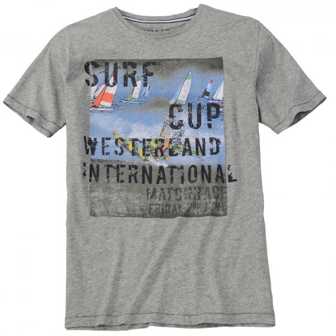 T-Shirt mit Sylt-Print hellgrau_5130   3XL