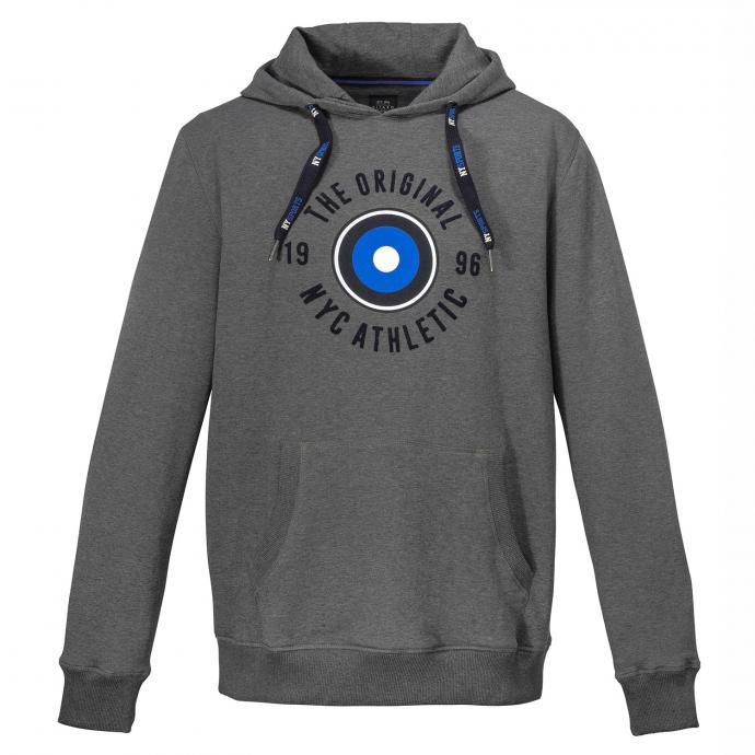 Sweatshirt mit Kapuze grau_5102 | 3XL