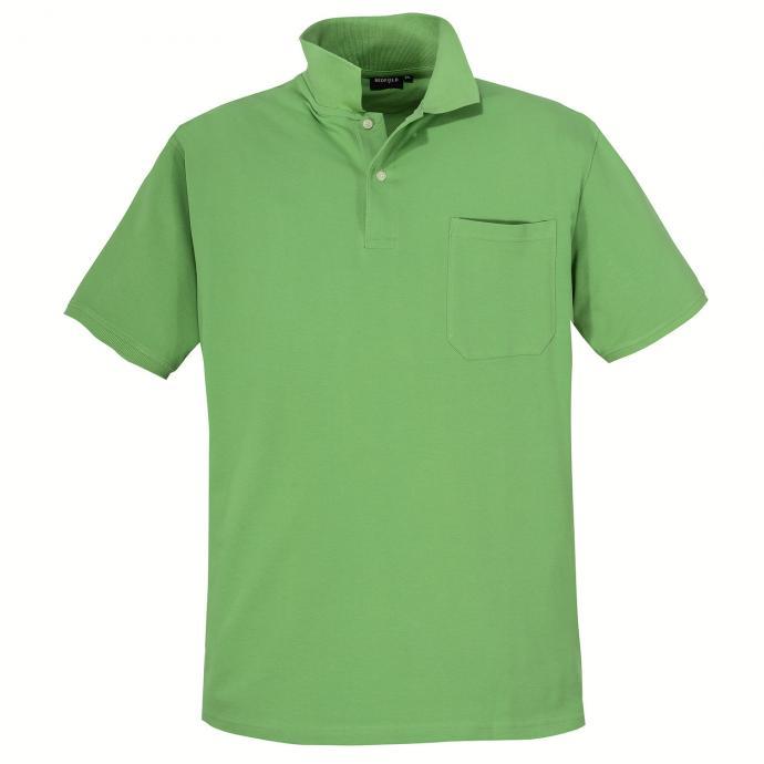 Basic Piqué-Polohemd in vielen Farben lindgrün_628/613 | 3XL