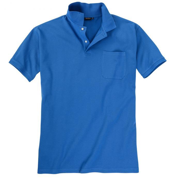 Basic Piqué-Polohemd in vielen Farben königsblau_870 | 3XL