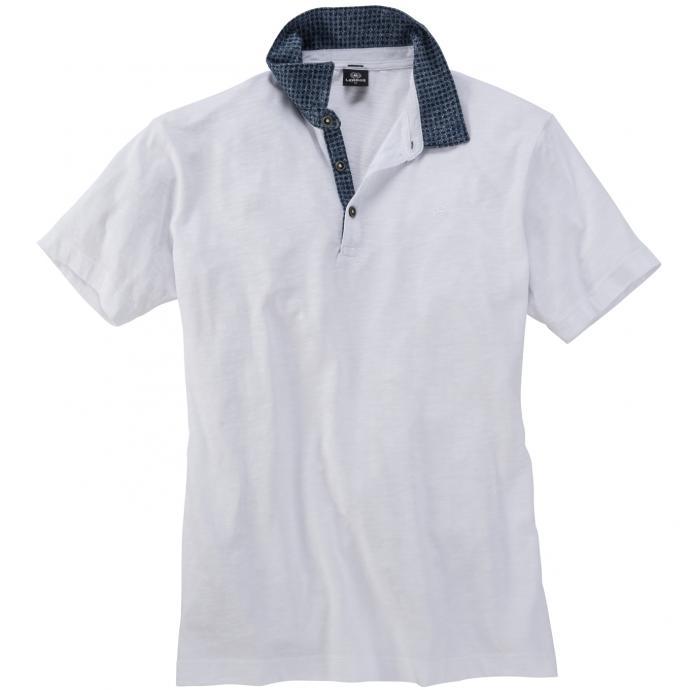 Poloshirt kurzarm weiß_100   5XL