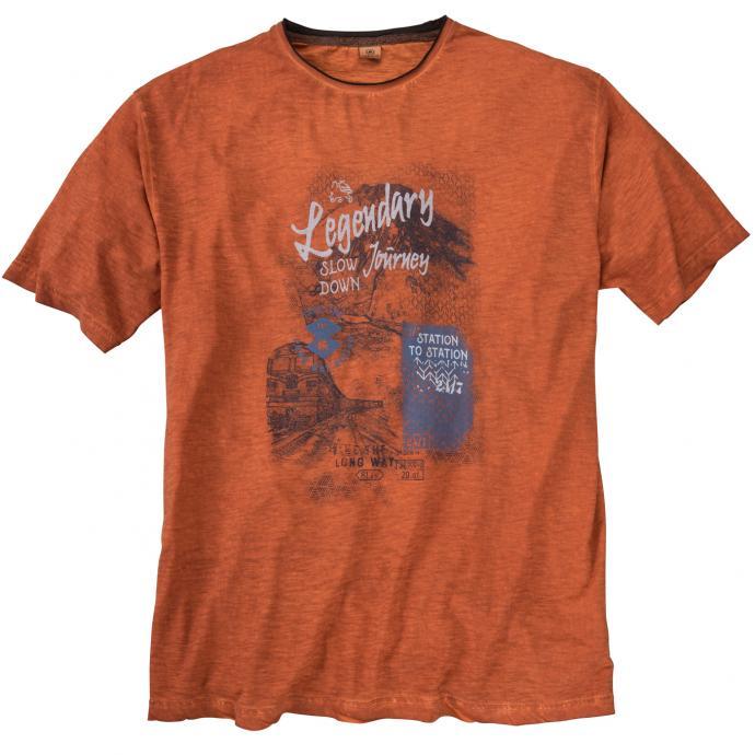 T-Shirt kurzarm rost_941 | 5XL