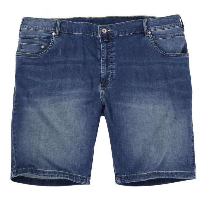 Stretch-Short mit natürlich wirkender Waschung jeansblau_374 | 32