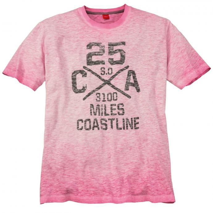 Modisches T-Shirt mit Print beere_4415   3XL