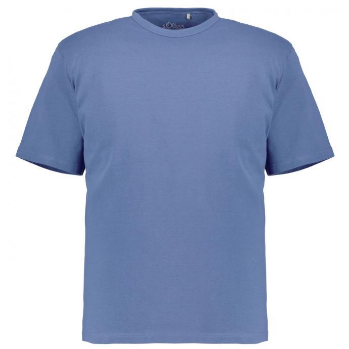 Basic-Shirt blau_5330 | 3XL