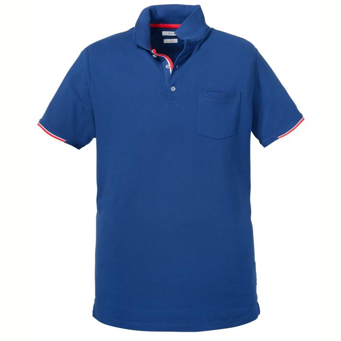 Attraktives Poloshirt Pique-Qualität blau_250 | 3XL