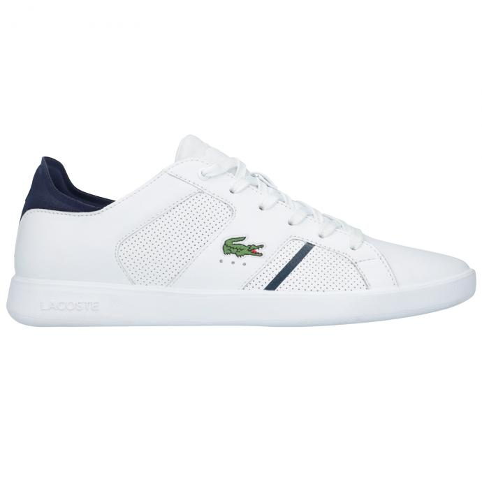 Lässiger Leder-Sneaker weiß_042 | 43