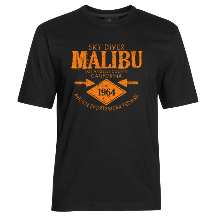 "T-Shirt ""Malibu"" schwarz_77   3XL"