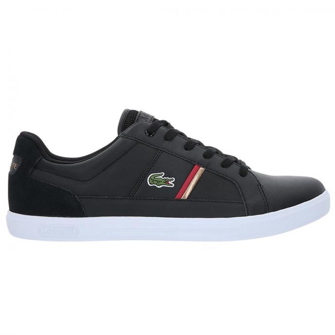 Sneaker mit farbigen Streifen schwarz_1B5 | 43