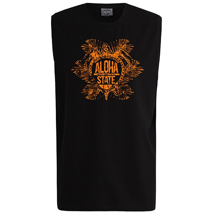 "Lässiges Tanktop mit ""ALOHA"" Print schwarz_77 | 3XL"