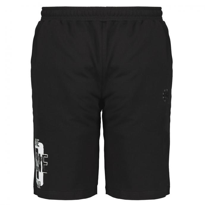 Kurze Jogging-Hose mit Taschen schwarz_77   3XL