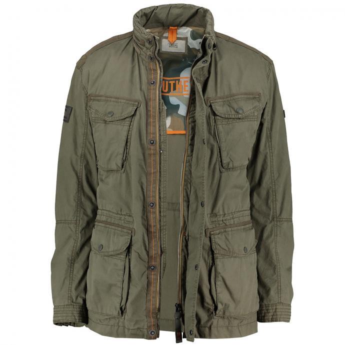 Jacke mit praktischen Taschen oliv_34 | 60
