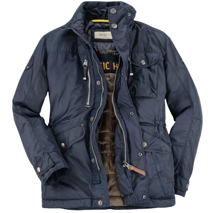 Sportliche Jacke mit unterschiedlichen Taschenvarianten dunkelblau_40   60