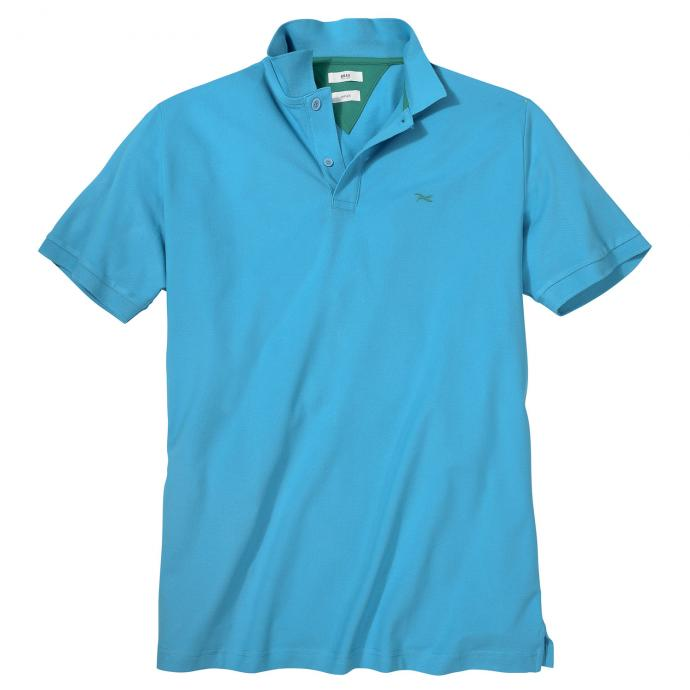 Super bequemes Piqué-Poloshirt in Hi-Flex Qualität türkis_27 | 3XL