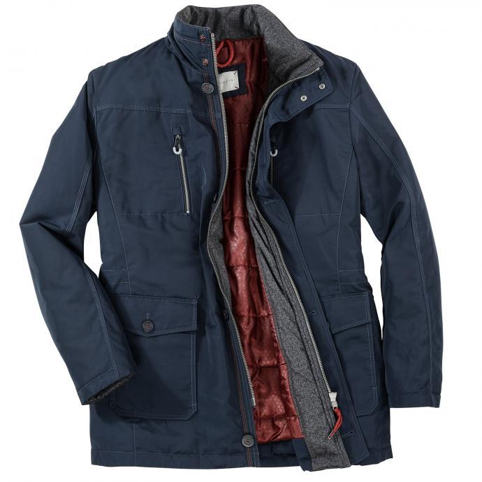 Warme Jacke mit Funktion, lang dunkelblau_390   31