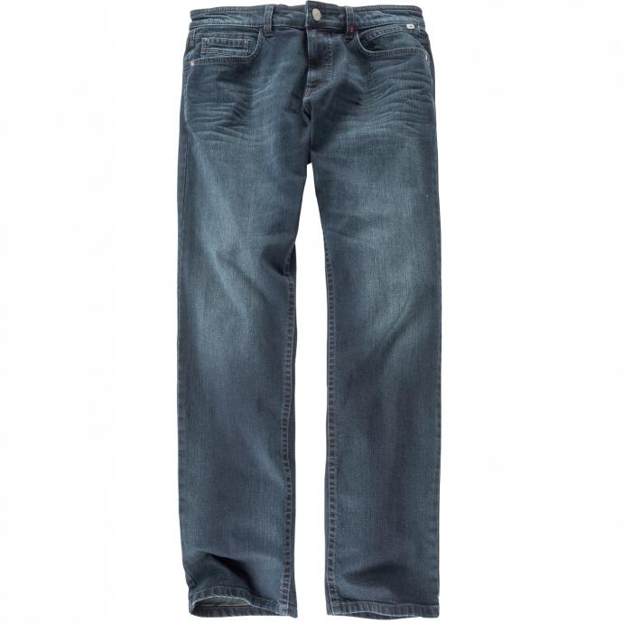 Black Denim-Jeans mit Stretchanteil blau_44   52/34