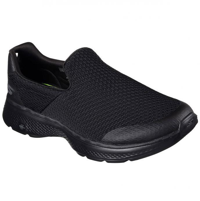 Sportlicher Sneaker mit Quick-Fit-Portal schwarz_BBK   43