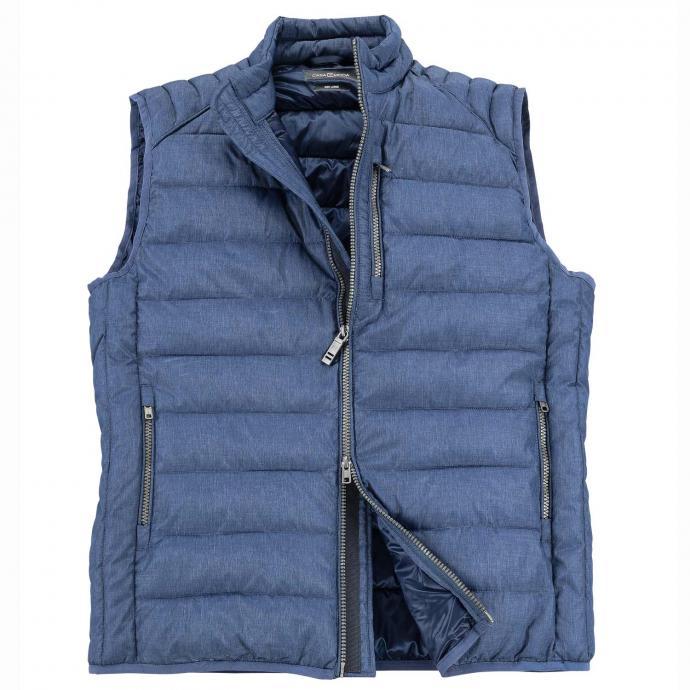 Leichte Stepp-Weste mit modischen Aspekten jeansblau_190 | 5XL