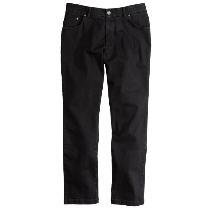 Five Pocket Jeans mit Kurzleibbund schwarz_2 | 58