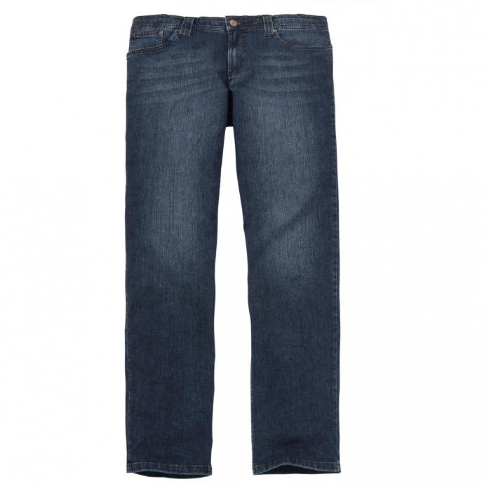 Bequeme Stretch-Jeans mit natürlich wirkender Waschung dunkelblau_23   60