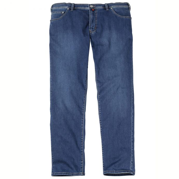Leichte Stretch-Jeans in 5-Pocket Form blau_24   28