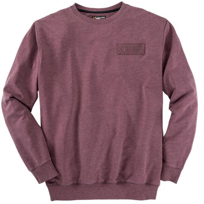 Bequemes Sweatshirt weinrot_370 | 4XL