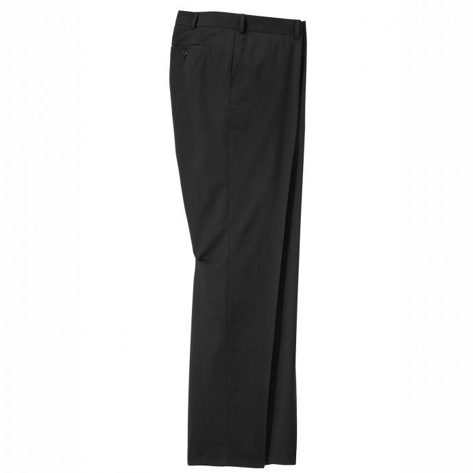 Baukasten-Anzughose aus Schurwoll-Gemisch & Stretch schwarz_9999 | 62