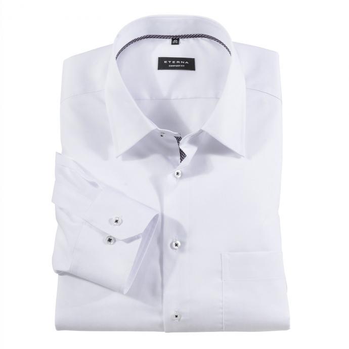 Elegantes City-Hemd langarm weiß_00 | 45