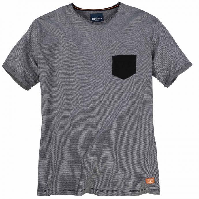 Rundhals-T-Shirt kurzarm anthrazit_0900   3XL