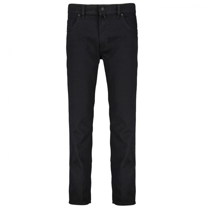Klassische Stretch-Jeans in Five-Pocket-Form schwarz_11 | 58