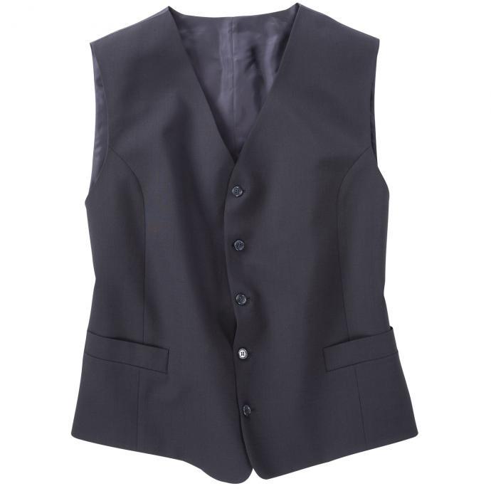 Weste für Baukasten Anzug blau_20 | 60