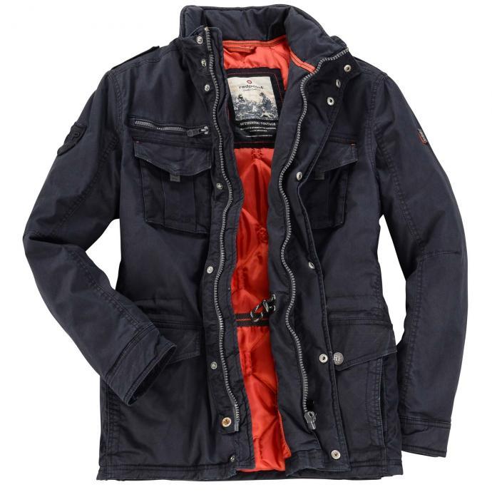 Legere Winterjacke mit unterschiedlichen Taschenvarianten dunkelblau_0800 | 66
