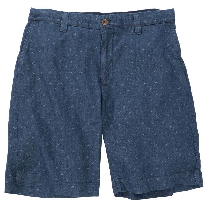 Short mit dezentem Muster blau_462 | W48