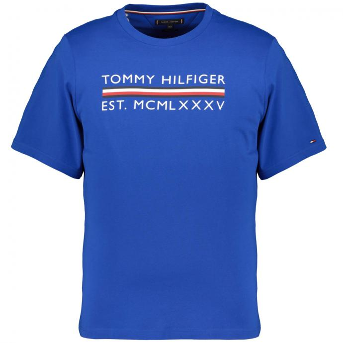 T-Shirt mit Logo Print royalblau_C65 | 3XL