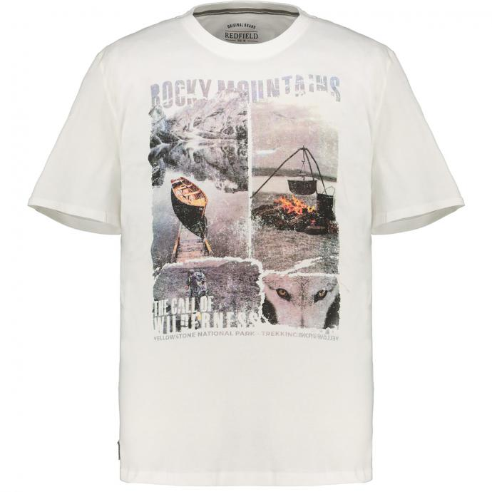 "T-Shirt mit großem ""Rocky Mountains""-Print natur_24 | 3XL"